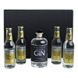 GJITO Dry Gin + 4x Fiver-Tree Premium Tonic Water 200ml- mit GESCHENKBOX
