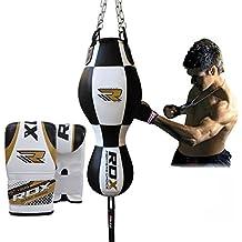 RDX 3 En 1 Sacos Bolsa De Boxeo Doble Fin Speed Ball Pesado Cuerpo Ángulo Saco MMA Muay Thai Kick Boxing