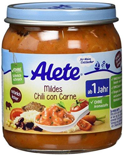 Alete Mildes Chili con Carne, 6er Pack (6 x 250 g)