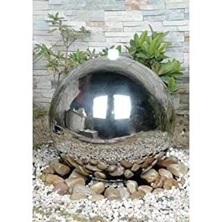 30cm Diameter Sphere with LED Light Water Feature