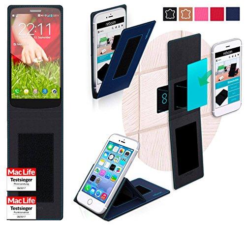 reboon Hülle für LG G2 Mini LTE Tasche Cover Case Bumper | Blau | Testsieger