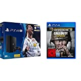PlayStation 4 Pro - Konsole (1TB) inkl. FIFA 18 + Call of Duty: WWII