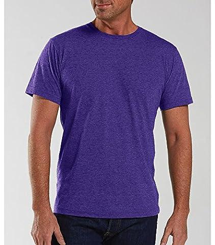 Lat Adult Vintage Fine Jersey T-Shirt (Vintage Purple) (XL) (US)