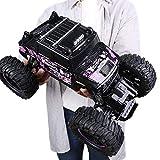 SIMR6 Haute Vitesse Géant 1:14 2.4 Ghz Radio Télécommande Voiture RC Hors Route Hobby Électrique Rapide Racing Rock Crawlers Monster Truck Grand Pieds Grand Alliage 4WD Dérive Des Voitures Escalade fo