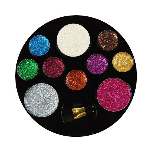 (6 Pack) BEAUTY TREATS 10 Color Perfect Glitter Palette - Enchanting