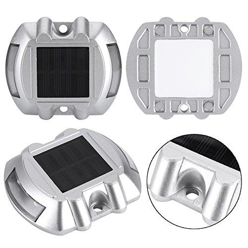 Zyyini Solar Deck Lichter, langlebige LED Einfahrt Dock Licht für Outdoor Zaun Patio Yard Deck Garden Ground Treppen(5#) -
