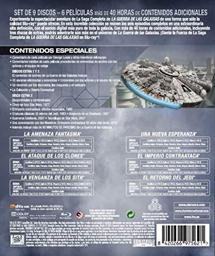 5159dJS6bPL - Star Wars Saga Completa (2015) Blu-Ray [Blu-ray]