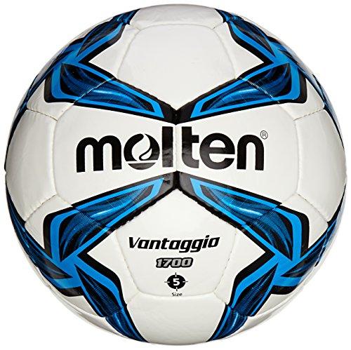 Molten Fussball Trainingsball 1700 Series, Blau/Weiß, 5 Stück -