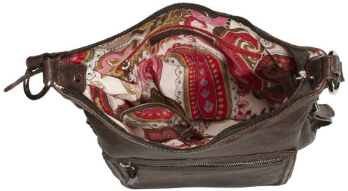 Bruno Banani Shoulder Bag HTL 320.1273, Borsa a tracolla Donna Marrone (Braun (braun)