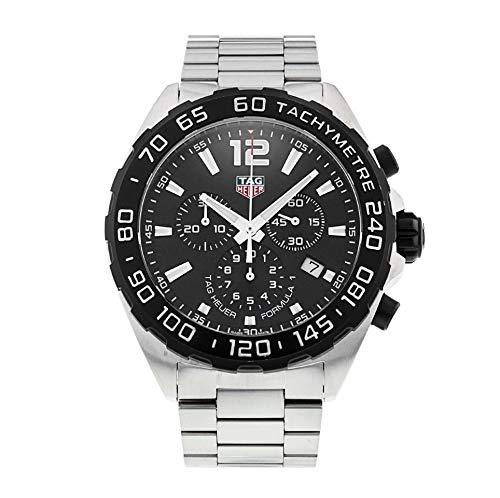 TAG Heuer Formula 1 CAZ1010.BA0842 - Reloj de Pulsera con cronógrafo (Cuarzo, Acero Inoxidable), Color Negro