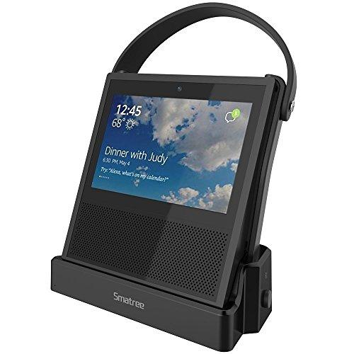 (Echo Show Akku) Smatree Powerbank 20400 mAh für Echo Show, unterstützt Ihr Echo Show 8-14 Stunden 25 Component Audio