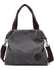 BYD - Mujeres Bag Bolsos bandolera Mutil Function Bag Crossbody Bag Tote Carteras de mano