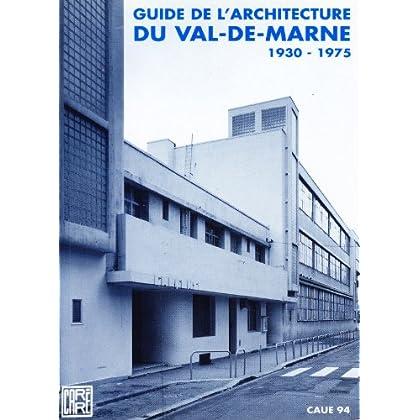 Guide d'architecture du val de marne                                                          050597