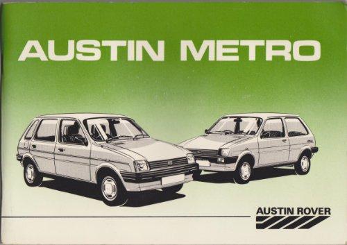 Austin Metro Driver's Handbook