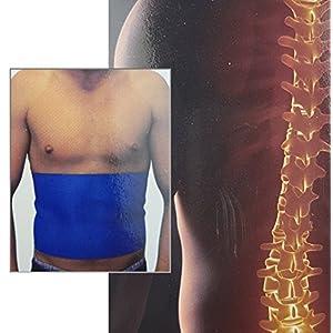 Loose und Germershausen GbR Rückenbandage Bauchweg Gürtel Universal Rücken Bandage Rückenstütze Rückengürtel