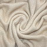 Lorenzo Cana High End Luxus Wolldecke aus Flauschiger Wolle Wohndecke Cottage Landhaus Decke 100% Wolle Sofadecke Picknickdecke Kuscheldecke Plaid 130 cm x 200 cm 96135