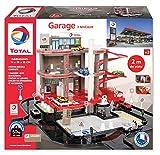 Total - Super Garage Station Service Complète avec Circuit 2 mètres - Dès 3 Ans - Fabrication Européenne