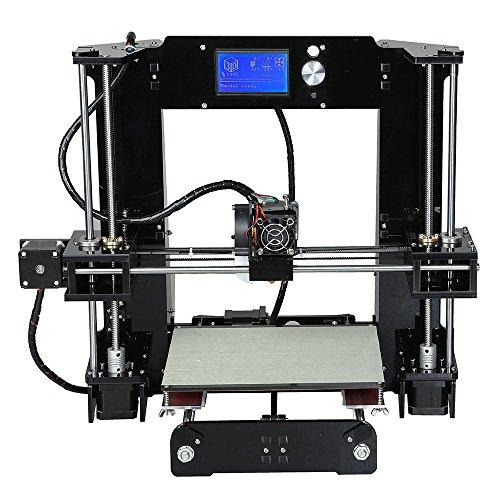 3D DIY d'imprimante,Anet A6,Diamètre du Filament 1,75 mm 3D Imprimante Modulaire ABS, PLA, HIPS