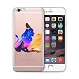 Générique Coque Iphone 4s 5s 6s 7 Disney Roi Lion en sillicone Etui Housse Bumper (5c)