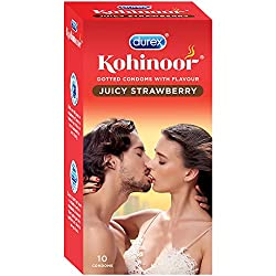 Durex Kohinoor Condoms - 10 Count (Juicy Strawberry)
