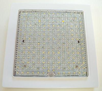 LED Wand- & Deckenleuchte quadratisch, 196 LEDs, neutralweiss, 4000K