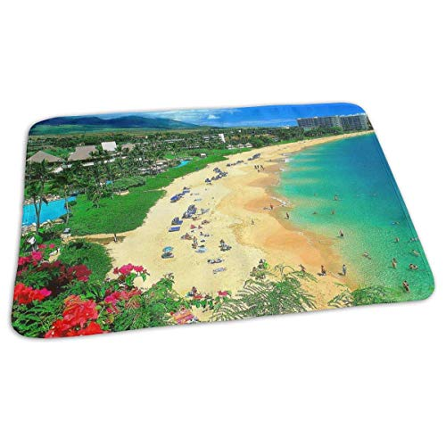 Kaanapali Beach, Maui, Hawaii (Kotdeqay Premium Baby Diaper Changing Pads for Infant Kaanapali Beach Maui Hawaii Portable Urine Pads Play Mat Great for Travel/Stroller/Bed/Car)