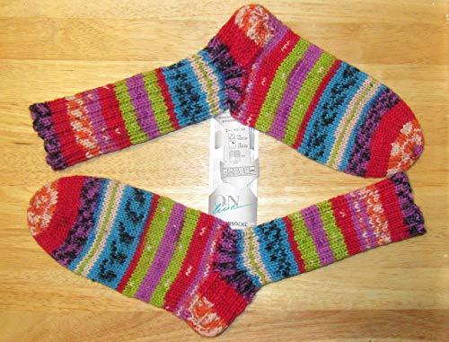 Handgestrickt/selbstgestrickt/Socken/Wollsocken/Gr. 40-41 / Damen/Herren/Wintersocken/Online 8 fädig