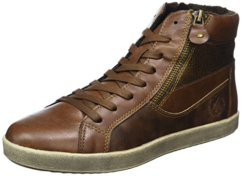 Jane Klain Women 252 253 High Sneaker Beige (cognac)