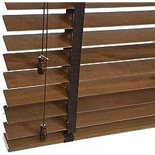 WENZHE Venecianas Estores De Bambú Persiana Enrollable Impermeable Sombreado Casa Baño Balcón Sombra Madera Maciza,