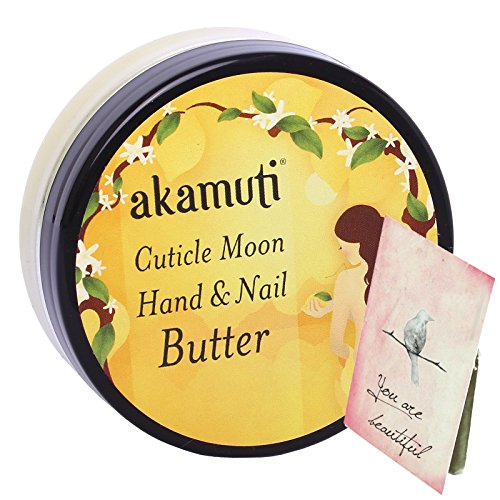 Akamuti - Crema Mani e Unghie Idratante Cuticole Burro di Cacao e Miele 50 ml