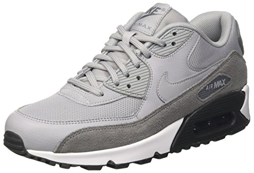 more photos eb1fb f8642 Nike Air Max 90, Scarpe da Ginnastica Basse Donna, Grigio (Cool Grey