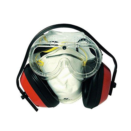 Maurer 15040650–Persönlichen Schutz Kit (Brillen, Maske und Ohrenschützer) (Persönlicher Augenschutz)
