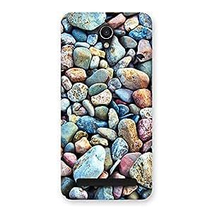 Pebbles Multicolor Back Case Cover for Zenfone Go