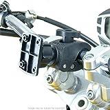 Buybits Hybrid Tough Haarkralle Motorrad Bike Mount für TomTom Rider 410
