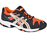 Asics Gel-Resolution 5 GS Schuh Black / Neon Orang