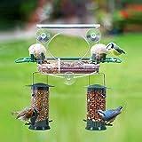 Meripac Vogelfutterstelle Futterstation Fenster