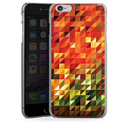 Apple iPhone 6 Housse Étui Silicone Coque Protection Cristaux Automne Abstrait CasDur anthracite clair