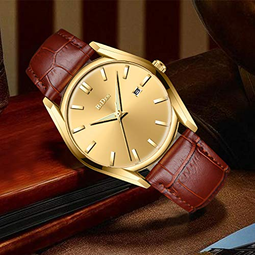 20acc27e0e8 Mens Watches Men 30M Waterproof Luxury Date Calendar Simple Design Wrist  Watch Gents Business Casual Fashion