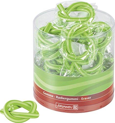 Brunnen 102997052 Radiergummi Schlange Colour Code (33 x 1 cm) grün / kiwi