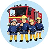 Tortenaufleger Feuerwehrmann Sam3 / 20 cm Ø