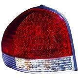 Tail Light Left Santa Fe Red/White