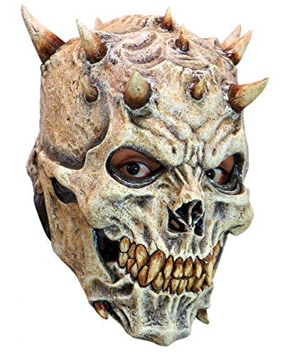 Hochwertige Night King Skull Maske aus Latex für Halloween, LARP & Cosplay (Maske Latex)