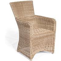 Sonnenpartner Gartenstuhl Sessel Modell Venus Farbe Antik Weiss 80061931