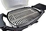 Grillrost.com - Edelstahl Grillrost/Ersatzrost passend für alle Grills der Weber Q200/Q2000 Baureihe