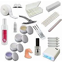 Starter Set Nail - UV Gel Kit - UV Lamp