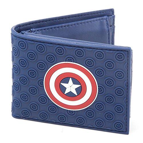 Captain America Geldbörse Logo