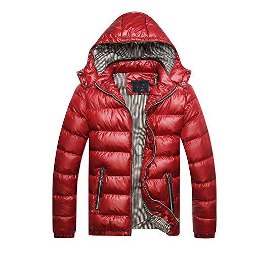 qkl Herren Herbst und Winter Neue Baumwollmantel Männer koreanische Version des Kragens Männer schlanke warme Männer Baumwolljacken