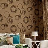 Tapete, KTV Hotel Hintergrund Styling Wand Wasserdichte Tapeten Moderne Einfache PVC Wohnzimmer TV Hintergrund Wandverkleidungen (Farbe : 1)