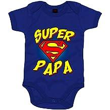 Body bebé Súper Papá logo Superman