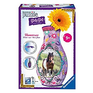 Ravensburger - 12052 - Puzzle Girly Girl Vase chevaux - 216 pièces